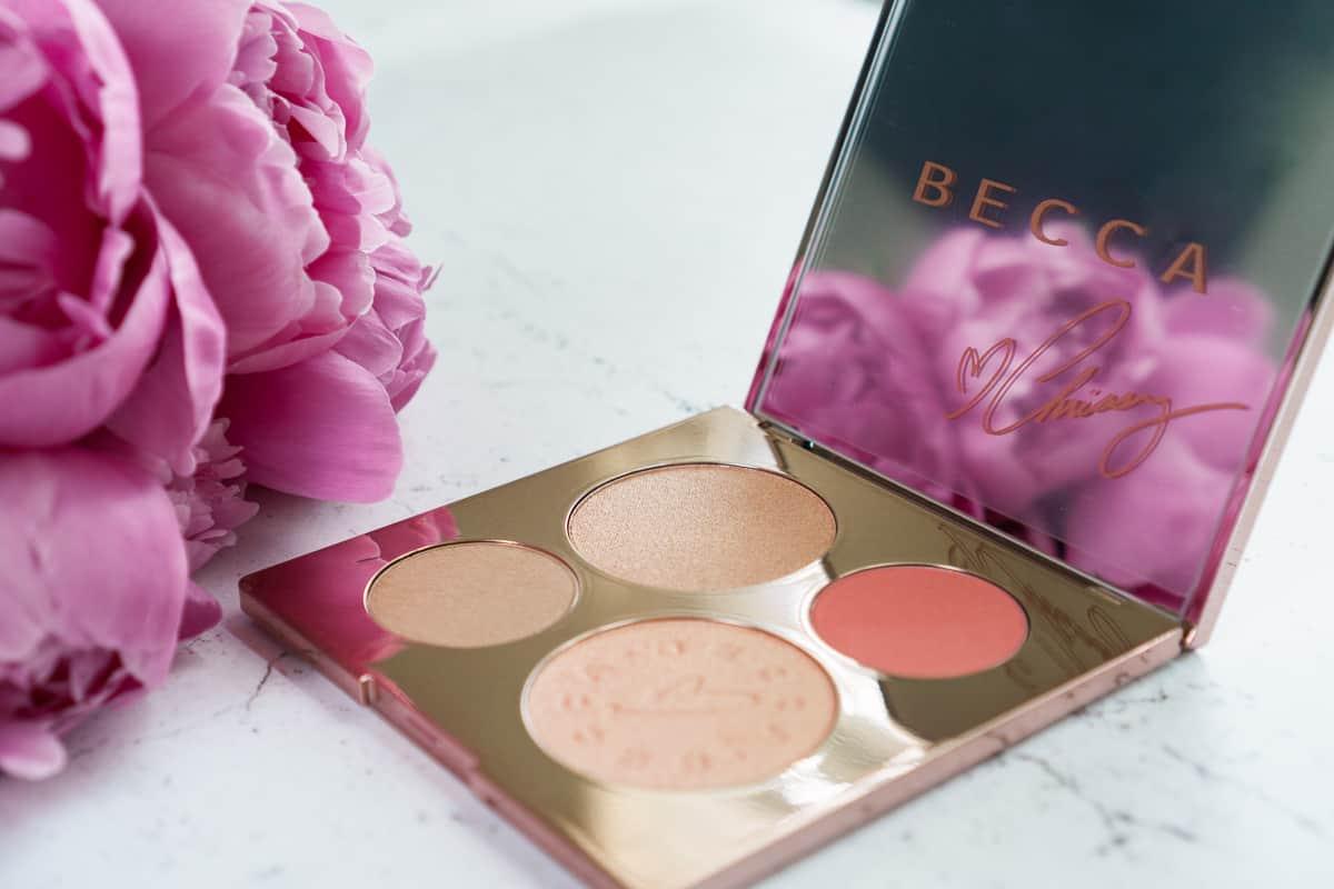Becca X Chrissy T Palette Review - Lace & Sparkles
