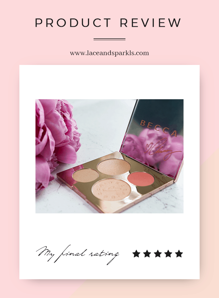 GET YOUR GLOW ON WITH BECCA X CHRISSY TEIGEN PALETTE