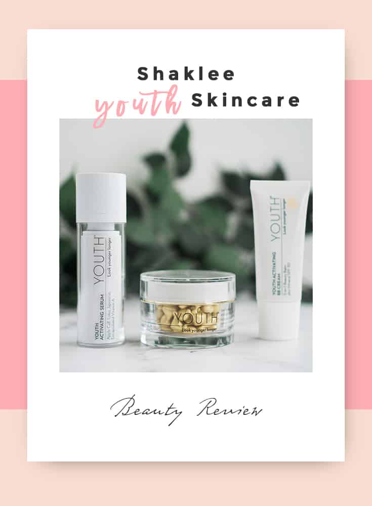 SHAKLEE YOUTH SKINCARE: RESEÑA*