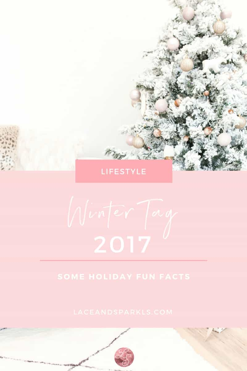 WinterTag- Lace and Sparkles