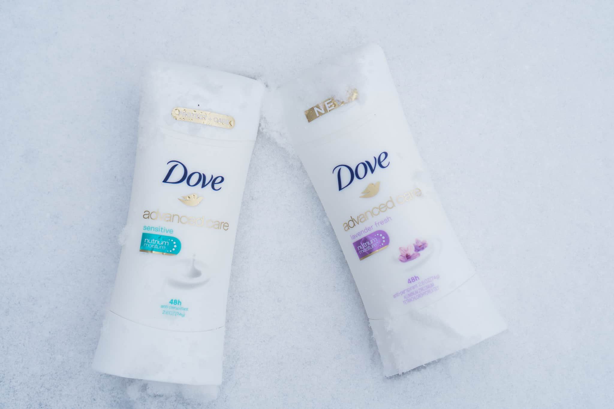 Winter Skincare with Dove - Lace and Sparkles
