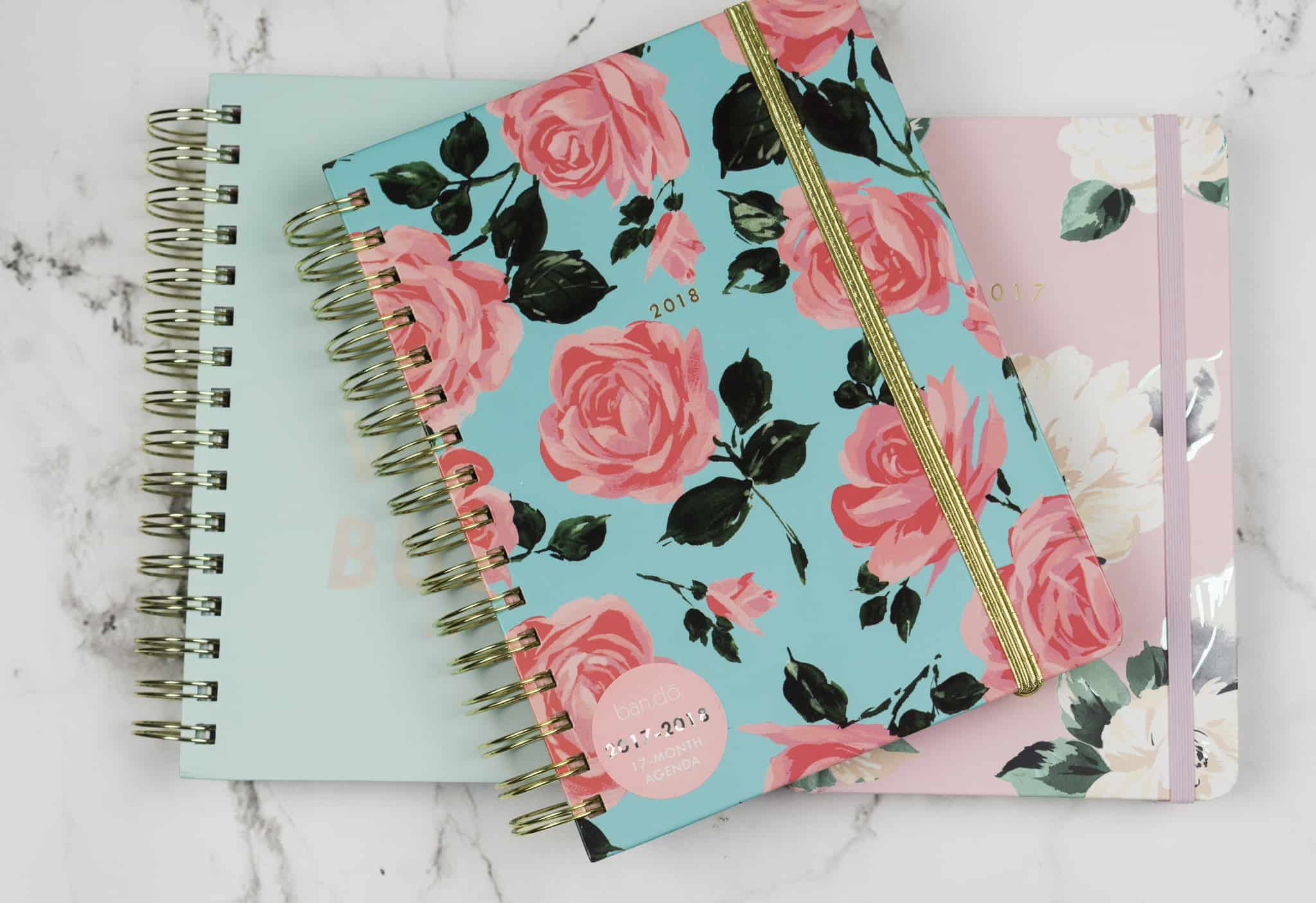 Best 2018 Planners - Lace and Sparkles