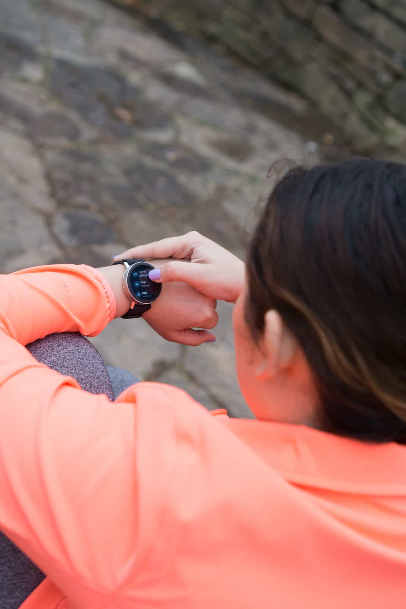 Misfit Vapor Smartwatch - Lace & Sparkles
