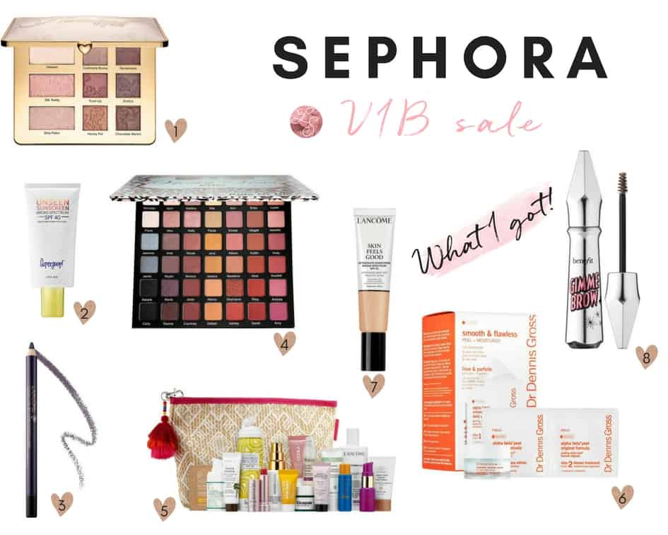 Sephora VIB Sale - Lace and Sparkles