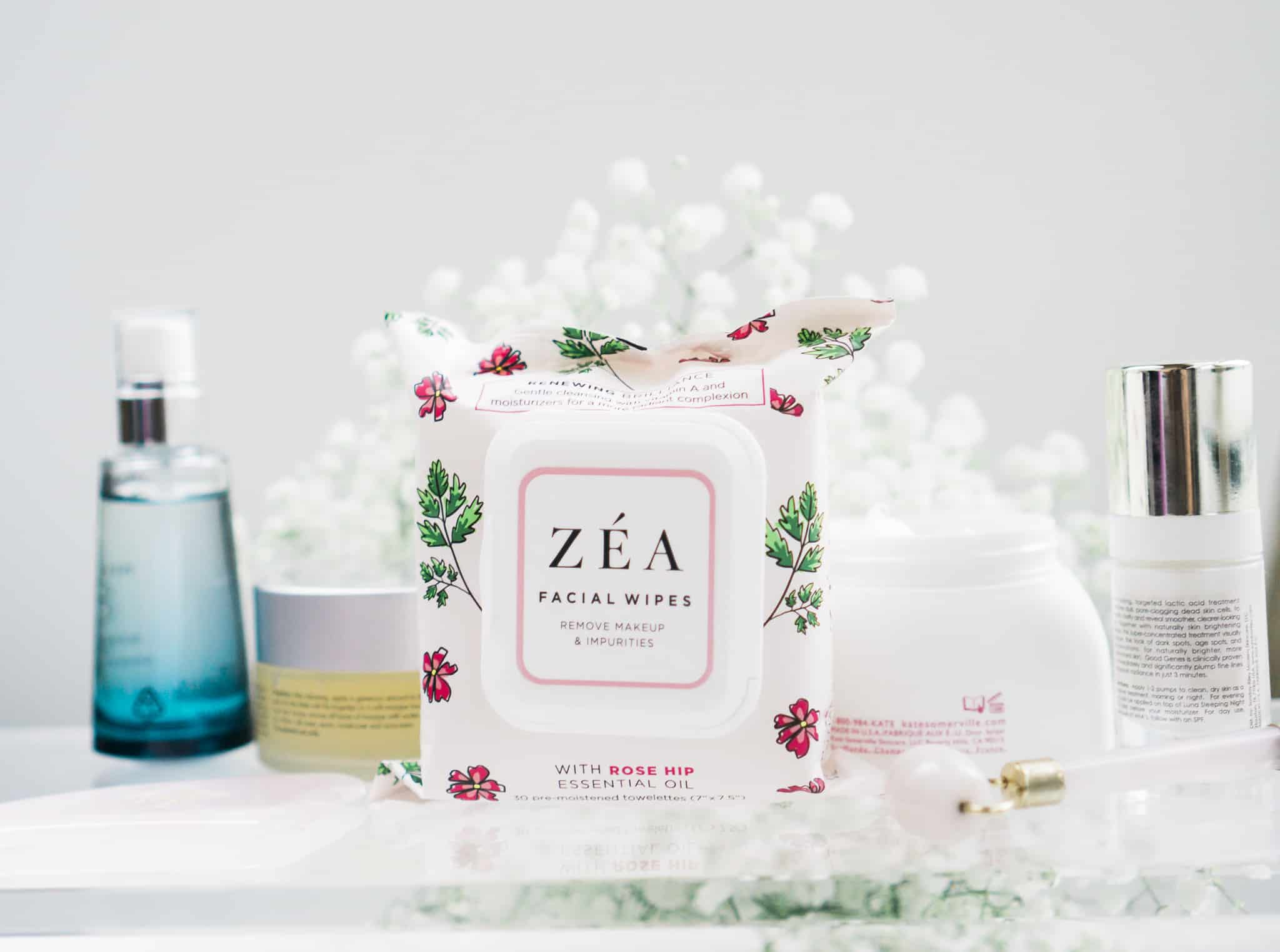 Get that Summer Glow with ZÉA Facial Wipes - Lace and Sparkles